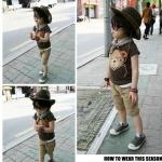ชุดเซ็ทเด็กชาย เสื้อ+กางเกง+ผ้าพันคอ มาใหม่สไตล์เกาหลี