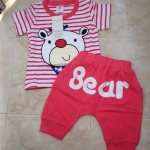 ชุดเซ็ทเด็กชายสไตล์เกาหลี เสื้อ +กางเกง