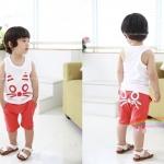 ชุดเซ็ทเด็กชายเสื้อ+กางเกง มาใหม่สไตล์เกาหลี มีไซส์
