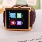 นาฬิกาโทรศัพท์ รุ่น DM08 Bluetooth Smart watch สีทอง ลดเหลือ 2,350 บาท ปกติขาย 4,590
