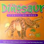 Dinosaur Stencilling Book
