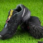 รองเท้า salomon speedcross 3 CS ดำ-เทา