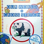 Our world in cross stitch