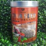 Black Chia Seed 550 g เมล็ดเจีย/เมล็ดเชีย organic 100%