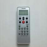 รีโมทแอร์ โตชิบ้า Toshiba ใหญ่ขาว ปุ่มแดง แท้