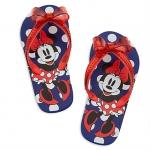รองเท้าแตะเด็ก มินนี่เมาส์ Minnie Mouse Flip Flops for Kids