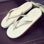รองเท้าแตะผู้ชายและหญิง สไตล์เกาหลี (สีเทาอ่อน)