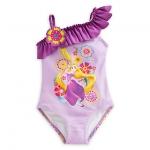 ชุดว่ายน้ำเด็ก ราพันเซล Rapunzel Swimsuit for Girls