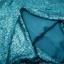 หมอนอิง Sequin Pillow Cushion Cover Pillow Case ขนาด 18 x 18 inch 45 cm. (สีเขียวลากูน่า) ขายดี thumbnail 5
